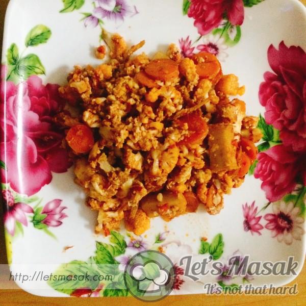 Nasi Cauli Flavour Bilis