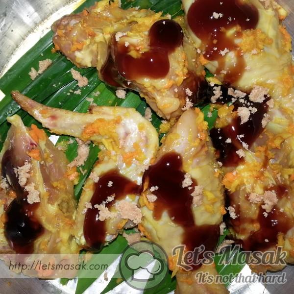 Ayam Kukus Simple