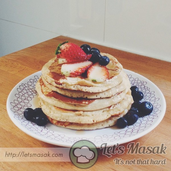 Wholewheat Protein Pancakes