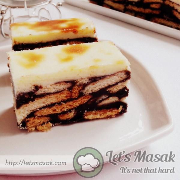 Kek Batik Cheese