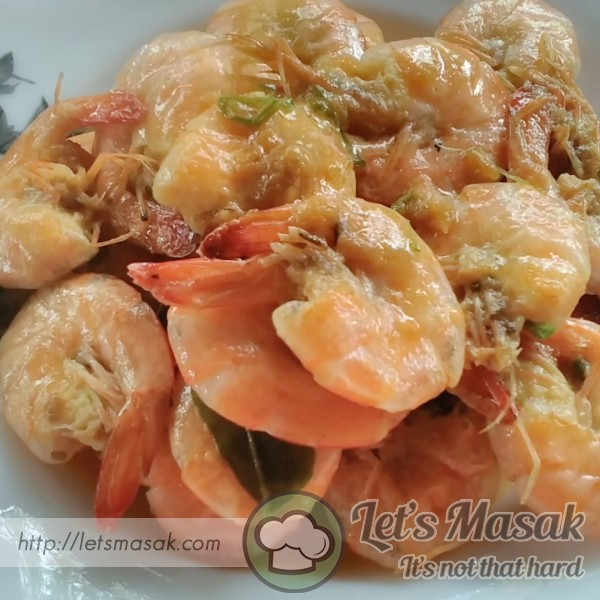 Sweet & Simple Butter Prawn