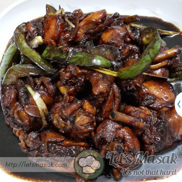 Recook Ayam Masak Kicap By Carmenizes Kitchen Letsmasak