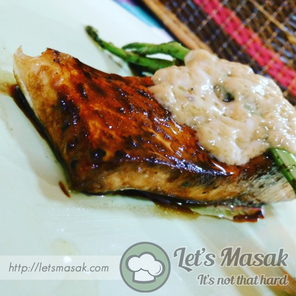 Grilled Garlic Honey Glazed Salmon
