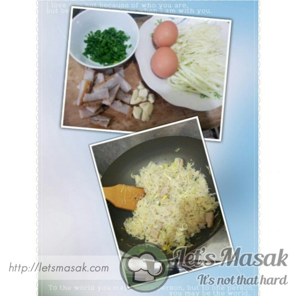 Fish Gravy Fried Rice Vermicelli