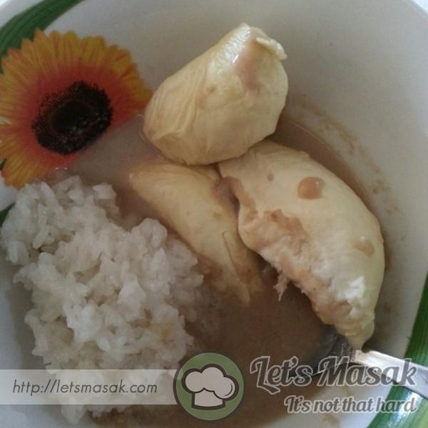 Pengat Durian Pantai Timur