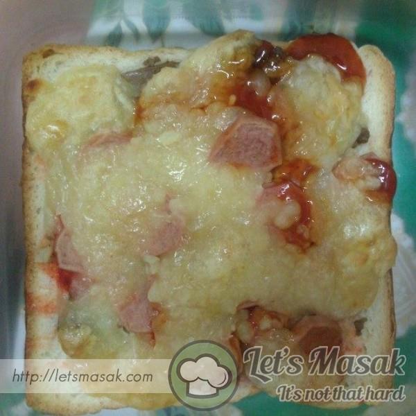Roti Pizza Simple