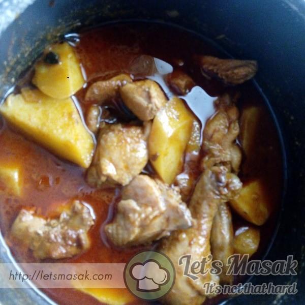 Kari Ayam Mudah