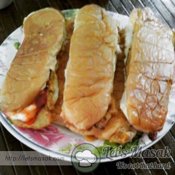 Roti John Mudah