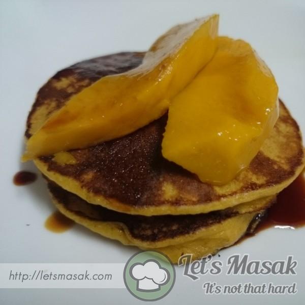Pancake Mangga Oat