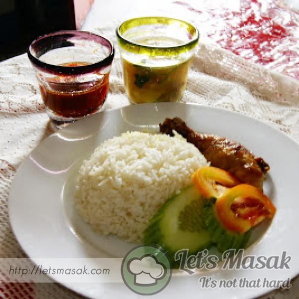 Nasi Ayam Minyak Sapi