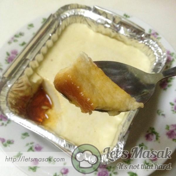 Puding Roti Karamel (Kukus)
