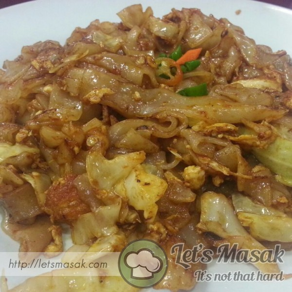 Kueh Teow Simple