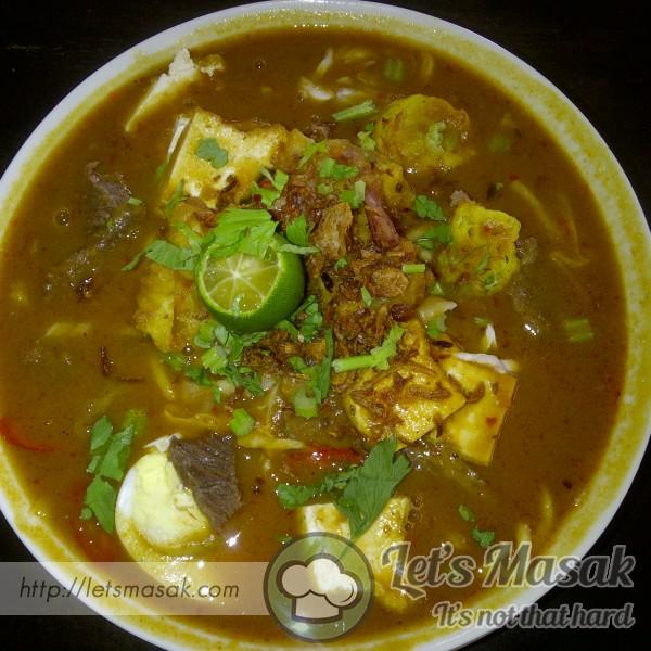 Mee Rebus Johor