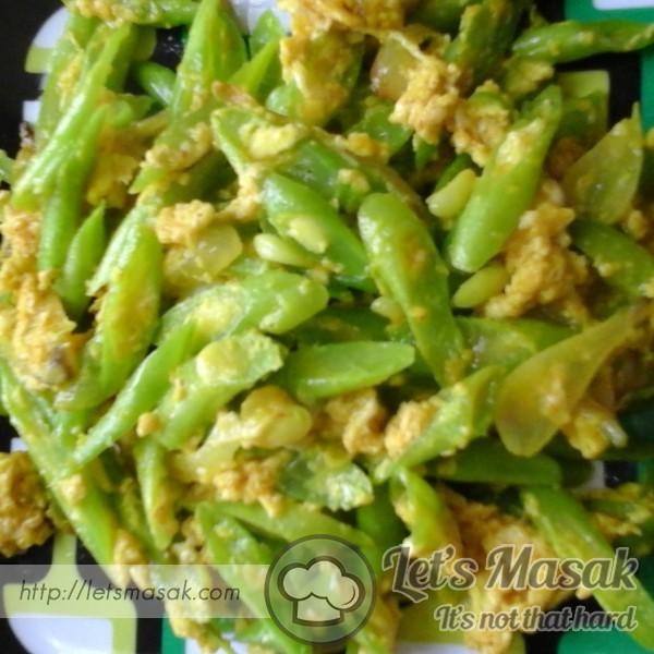 Sayur Kacang Buncis Dan Telur