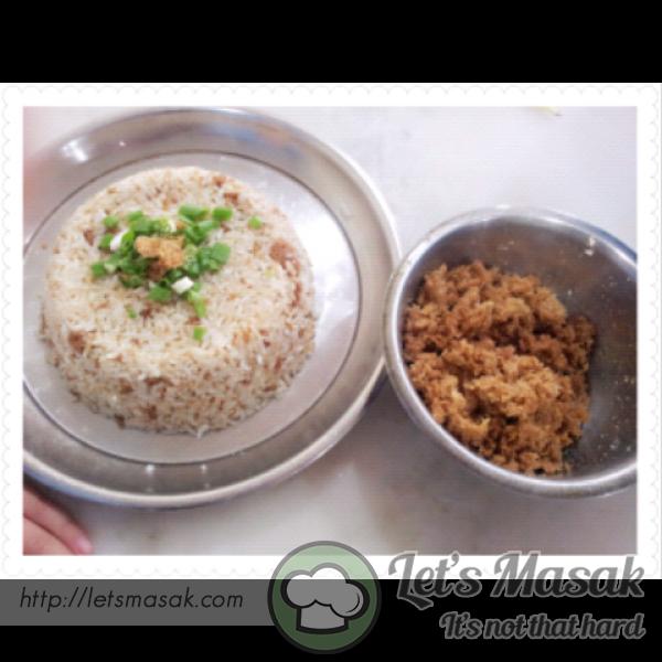 Ginger Paste Fried Rice