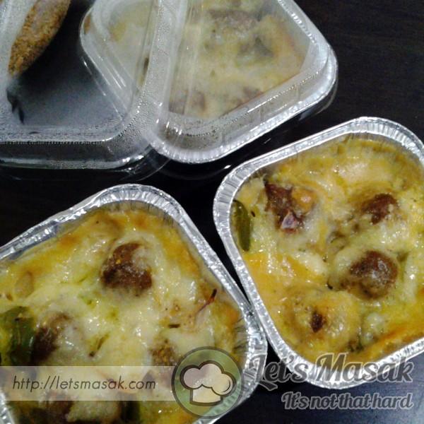 Meatball Carbonara Cheese