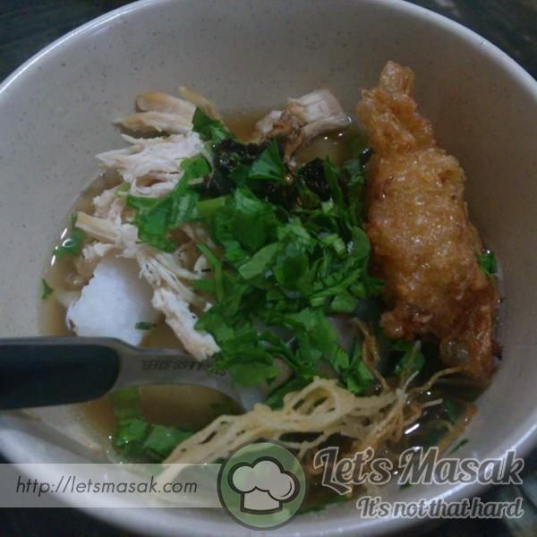 Soto Ayam Ringkas