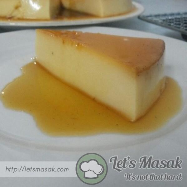 Eggless Cream Caramel