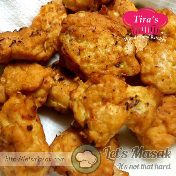 Flourless Chicken Nugget