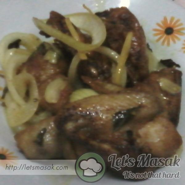 Ayam Goreng Madu Berhalia