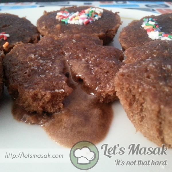 Cupcake Lava Meleleh