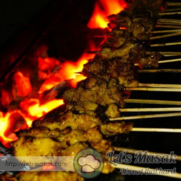 Homemade Satay
