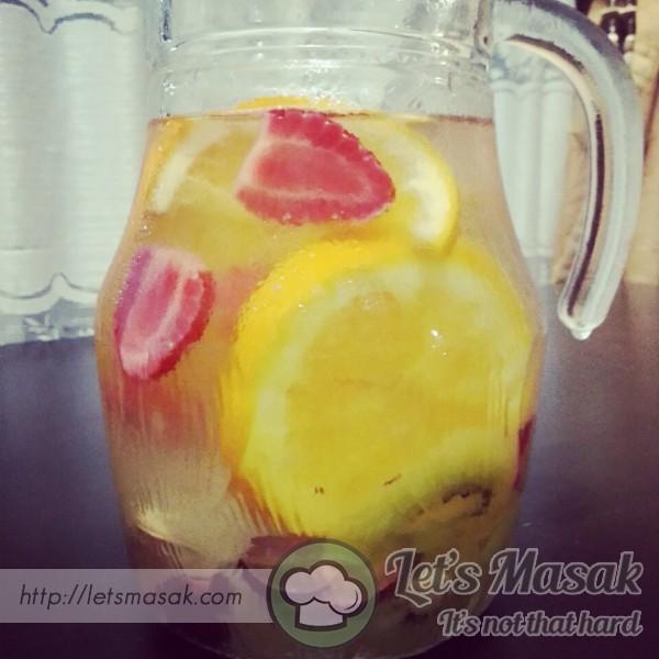 Detox Water@infused Water
