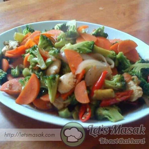 Brokoli Ayam