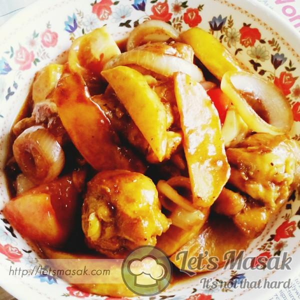 Chicken Honey Soy