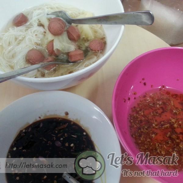 Bihun Sup Ala Chinese