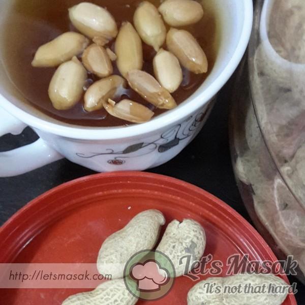 Teh O Panas Kacang