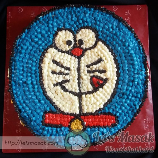 Doraemon Cream Cheese Butter Cake