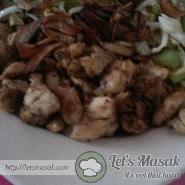 Ayam Teppanyaki Mudah