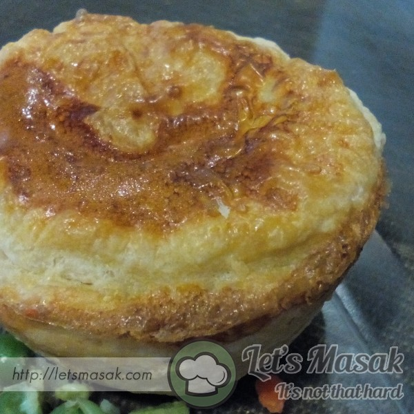Pie Daging Dgn Sayur Campur Simple