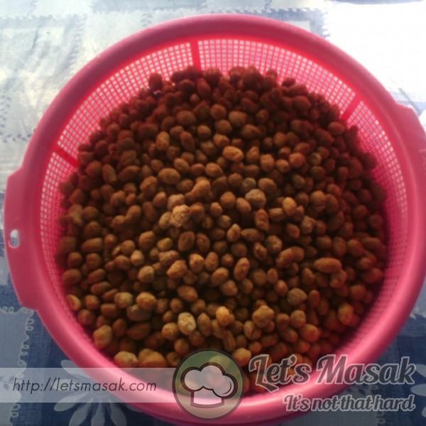 Kacang Botak Simple