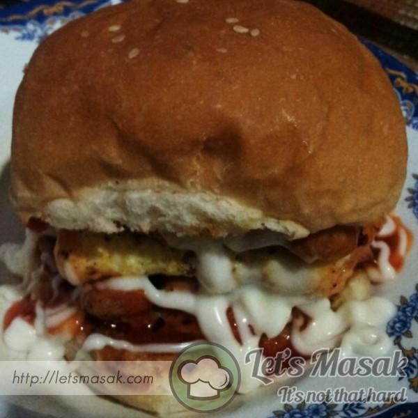 Burger Ayam Special