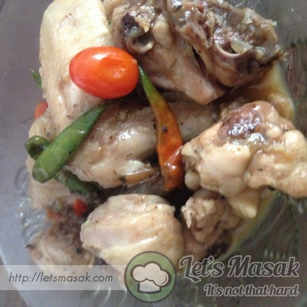 Brown Honey Chicken Blackpepper