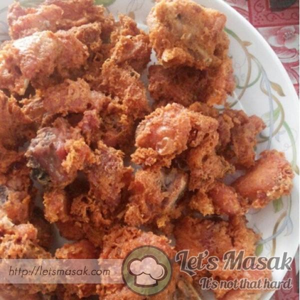 Ginger Chicken Popcorn