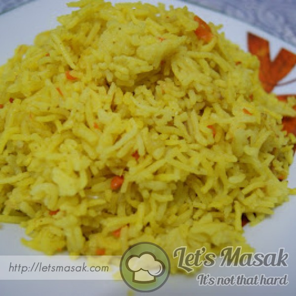 Aromatic Turmeric Briyani Rice