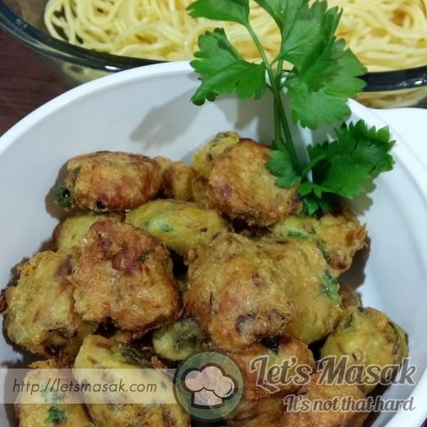 Mini Begedil Ayam