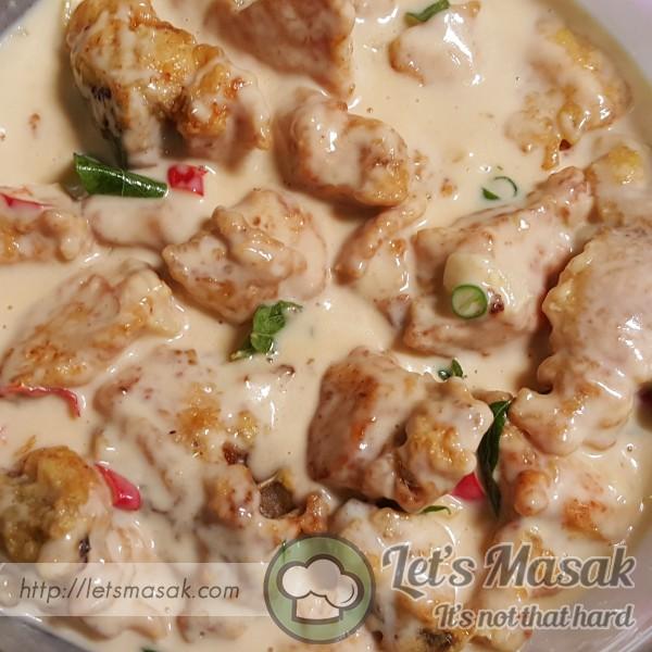 Ayam Berkrim Pedas