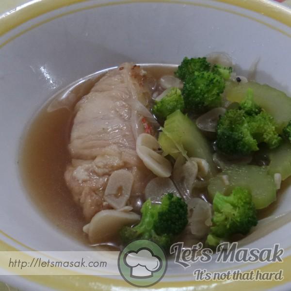 Sup Ikan Merah Ibu Berpantang