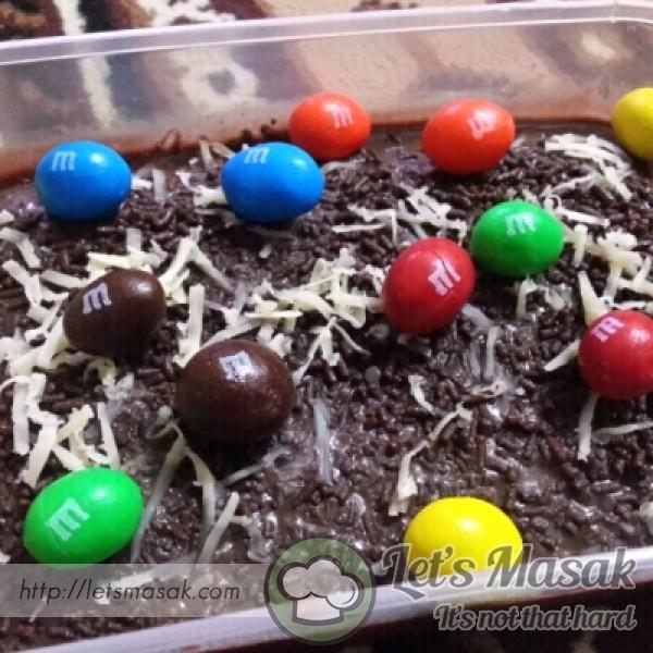 Chocolate Moist M&m