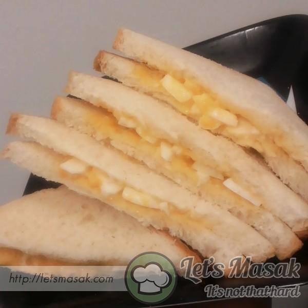 Sandwich Telur Mentega