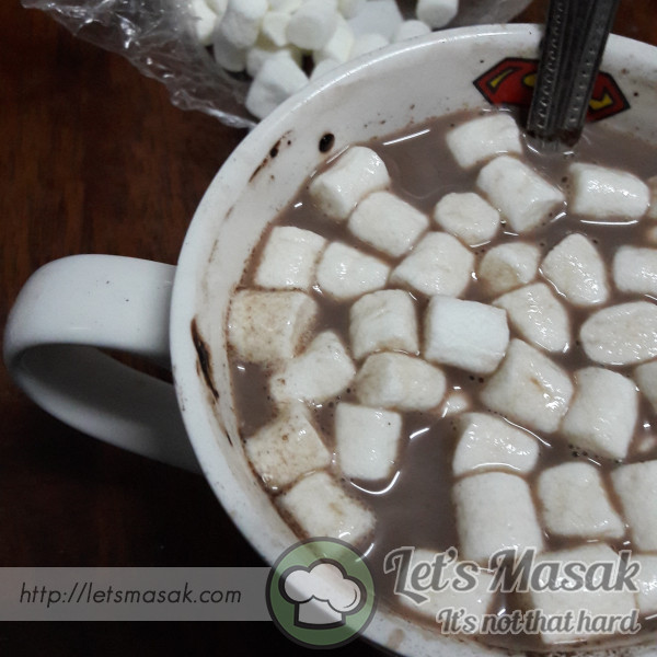Hot Chocolate Marshmellow