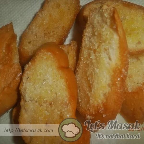Roti Perancis Bakar Marjerin