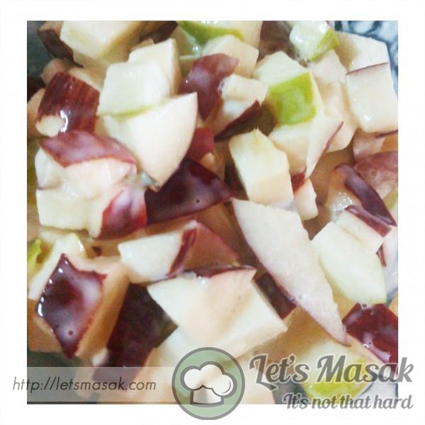 Salad Buah Vanilla