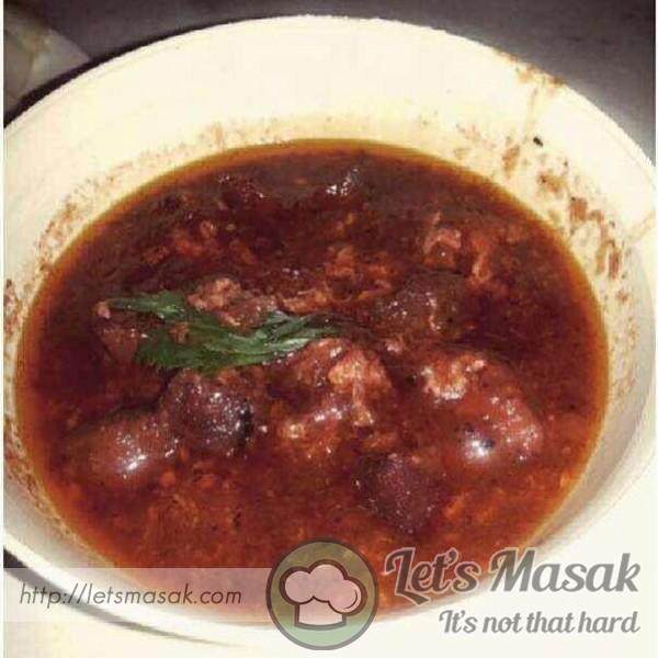 Sup Merah Daging Kambing Recipe Letsmasak