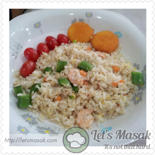 Seafood Vegie Fried Rice