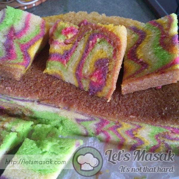 Kek Minyak Kukus Lembut